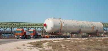PPG Saudi Arabia Moves Ten Heavy & Oversize Columns to